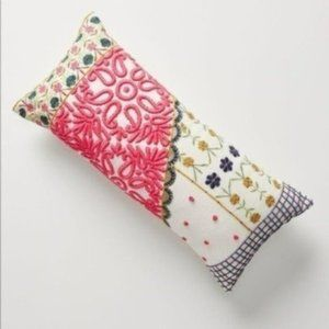 New! Anthropologie Embroidered Pillow